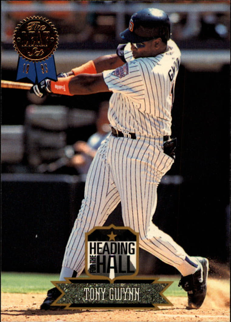1993 Leaf Heading for the Hall #2 Tony Gwynn