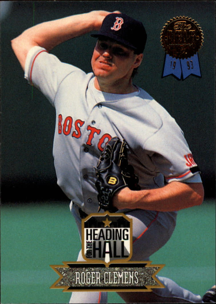 1993 Leaf Heading for the Hall #6 Roger Clemens