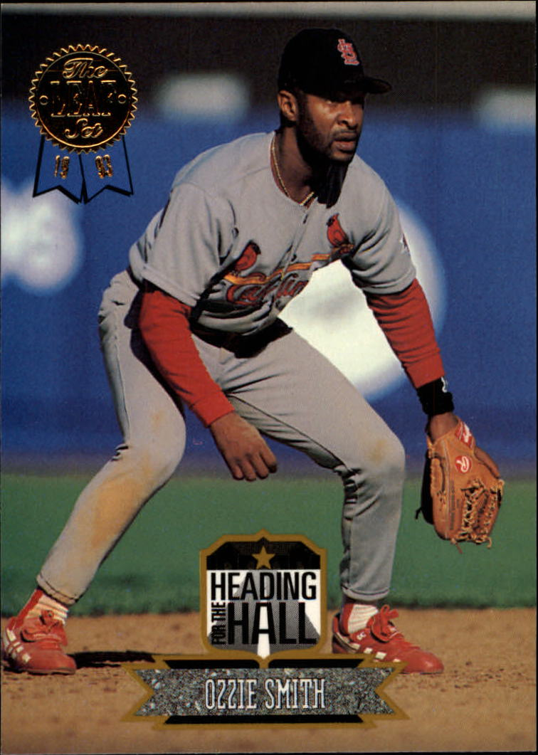 1993 Leaf Heading for the Hall #10 Ozzie Smith