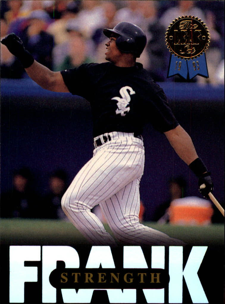 1993 Leaf Thomas #8 Frank Thomas/Strength