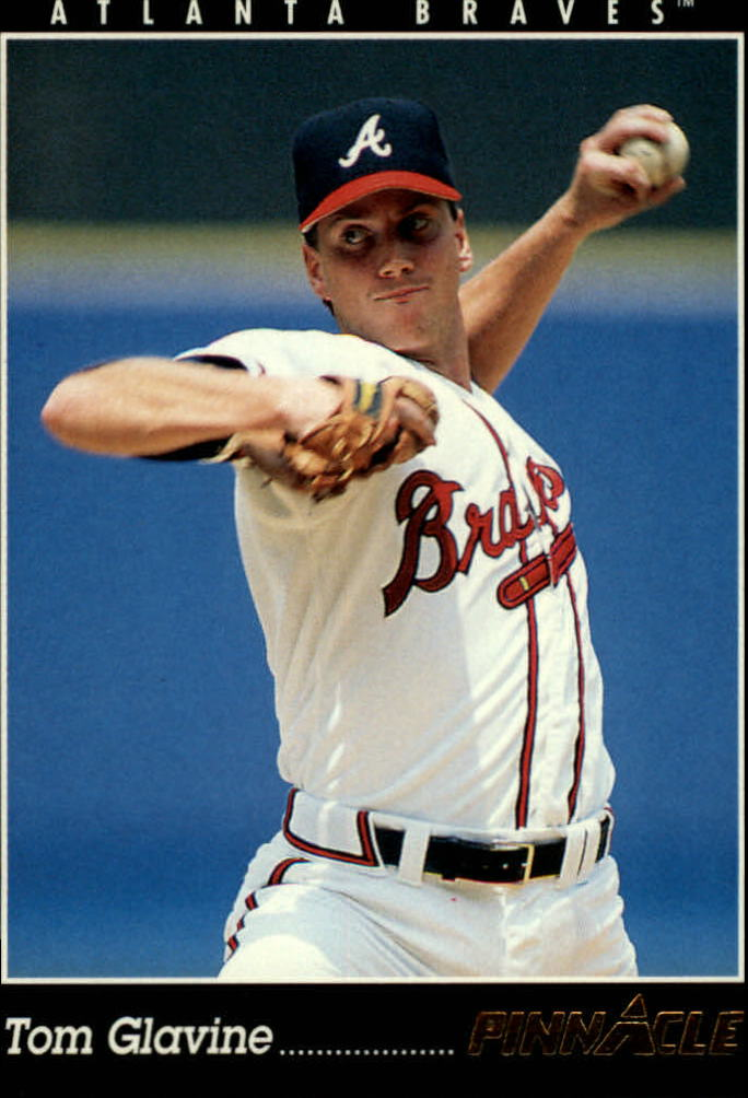 1993 Pinnacle #90 Tom Glavine