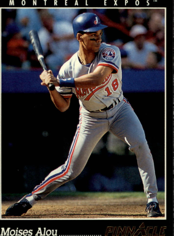 1993 Pinnacle #92 Moises Alou
