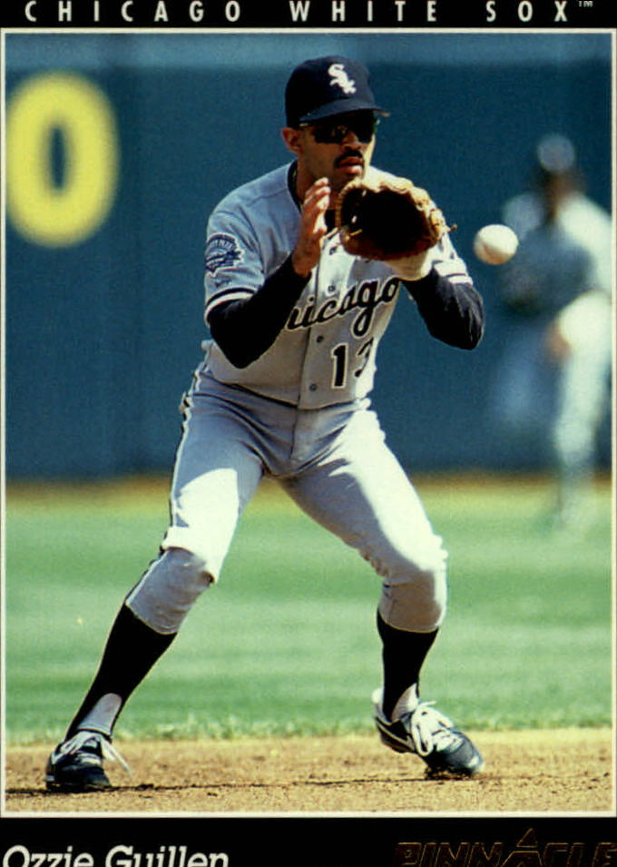 1993 Pinnacle #166 Ozzie Guillen