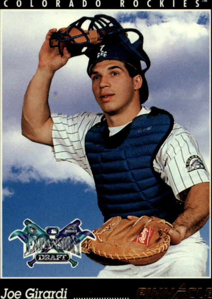 1993 Pinnacle #236 Joe Girardi