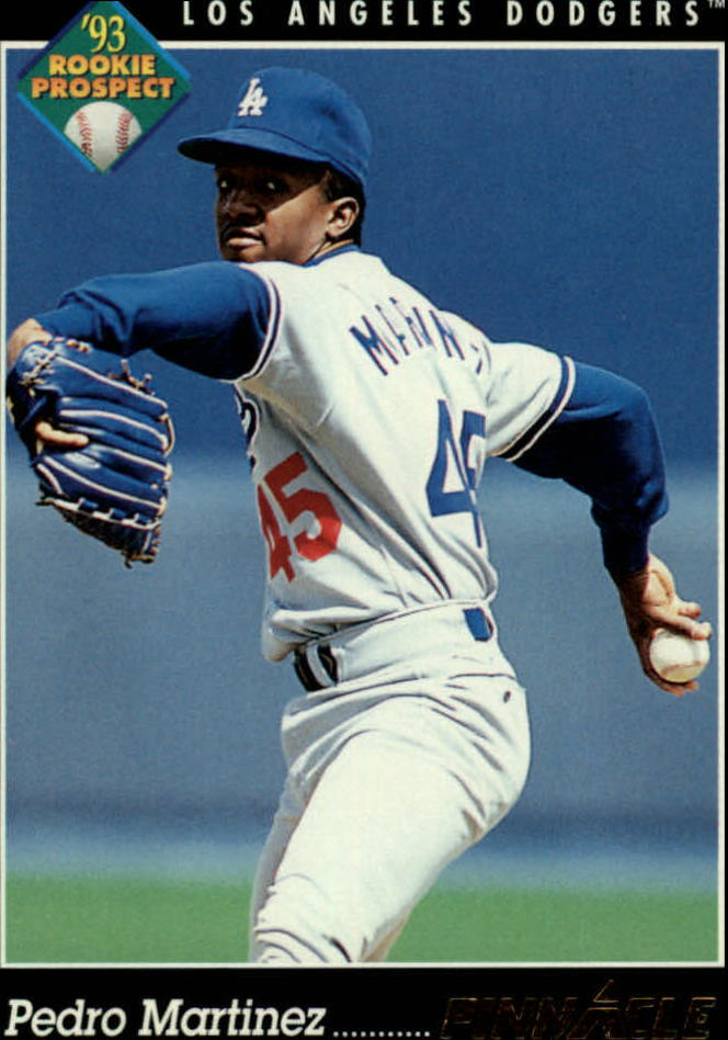 1993 Pinnacle #259 Pedro Martinez