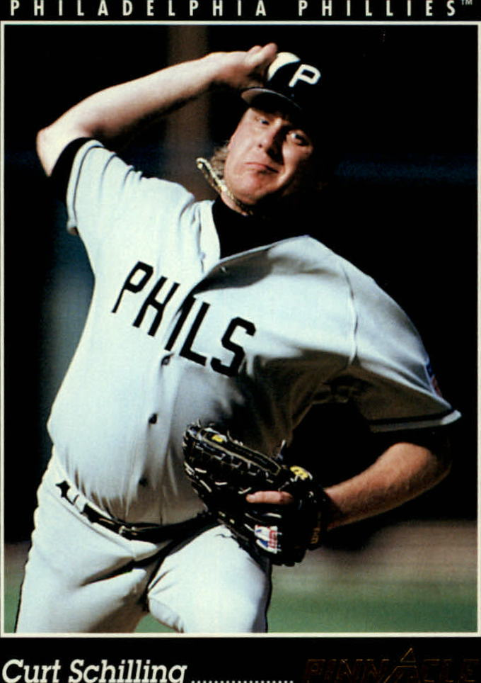 1993 Pinnacle #402 Curt Schilling