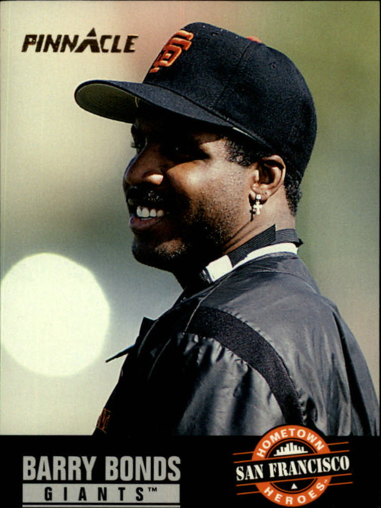 1993 Pinnacle #484 Barry Bonds HH
