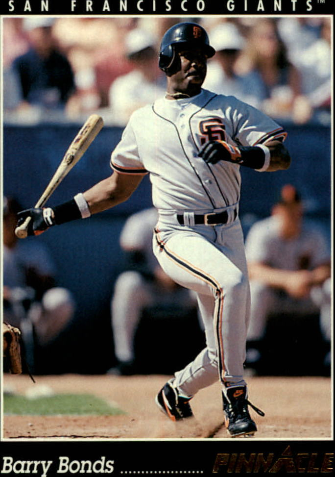 1993 Pinnacle #504 Barry Bonds