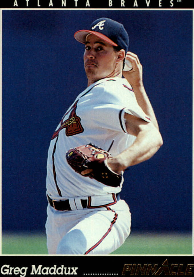 1993 Pinnacle #517 Greg Maddux