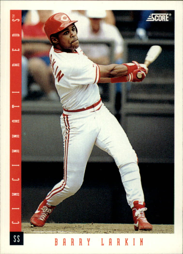 1993 Score #16 Barry Larkin