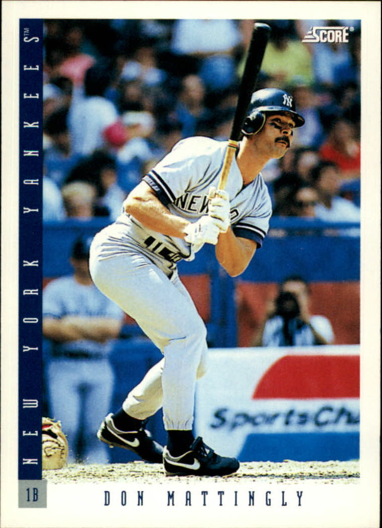 1993 Score #23 Don Mattingly