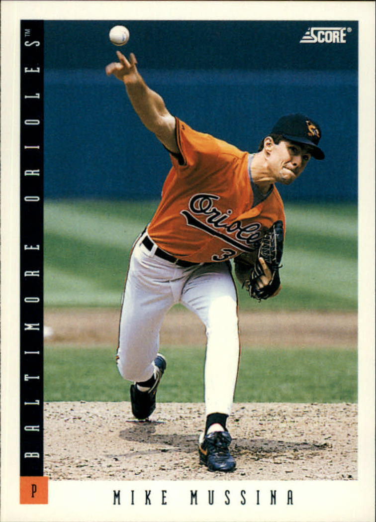 1993 Score #27 Mike Mussina