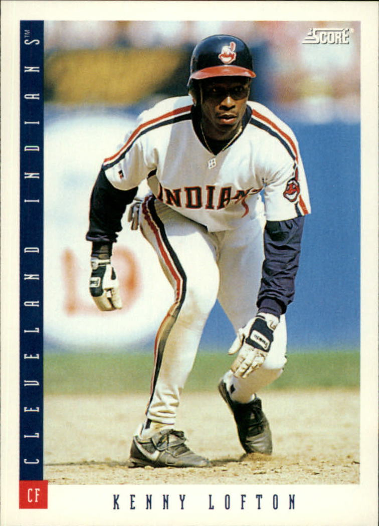 1993 Score #58 Kenny Lofton