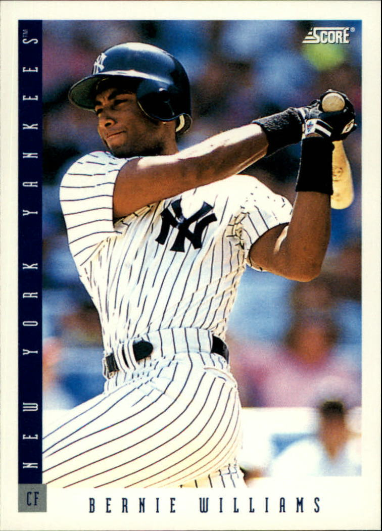 1993 Score #120 Bernie Williams