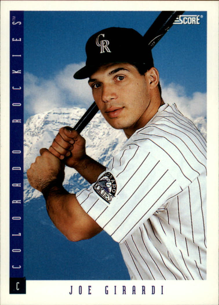 1993 Score #419 Joe Girardi