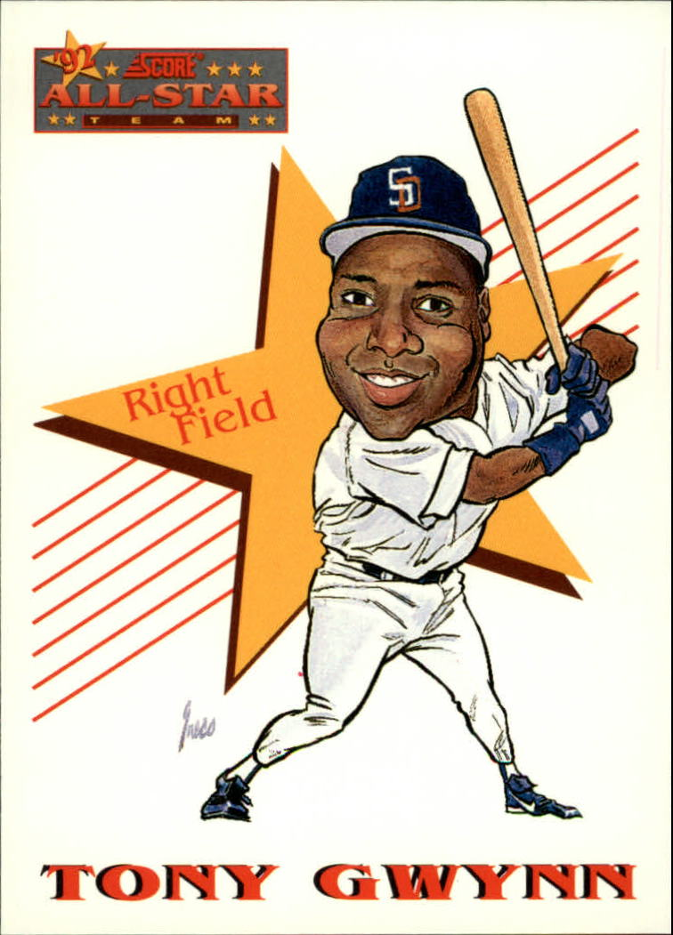 1993 Score #525 Tony Gwynn AS