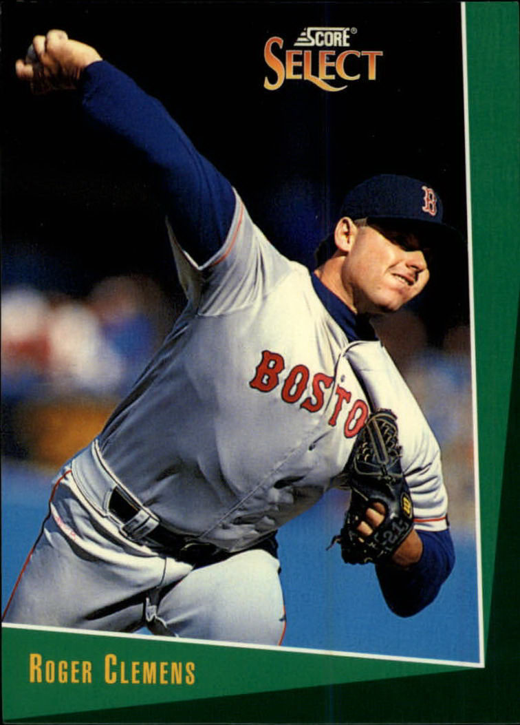 1993 Select #14 Roger Clemens