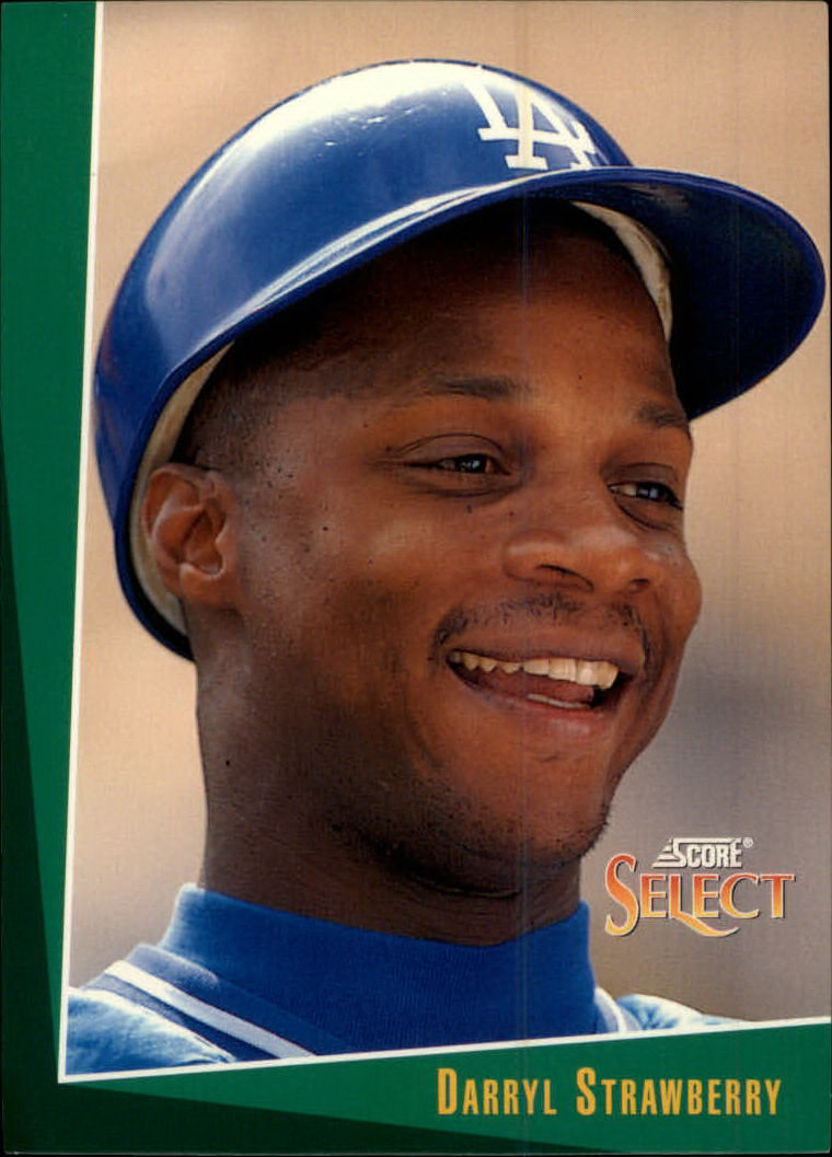 1993 Select #21 Darryl Strawberry