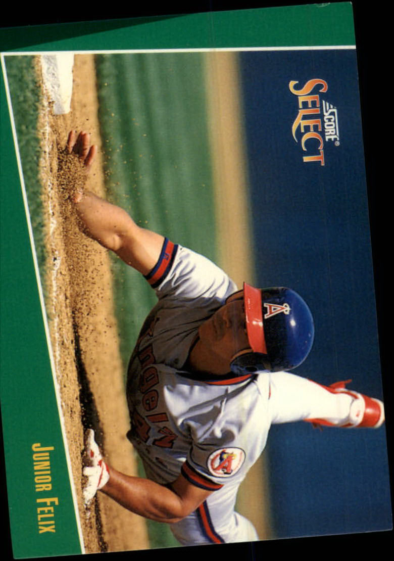 1993 Select #28 Junior Felix
