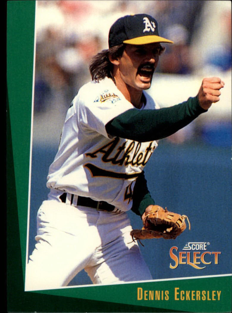 1993 Select #38 Dennis Eckersley