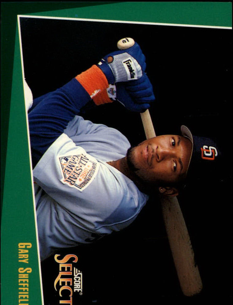 1993 Select #41 Gary Sheffield