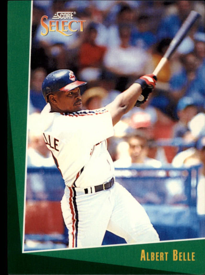 1993 Select #50 Albert Belle