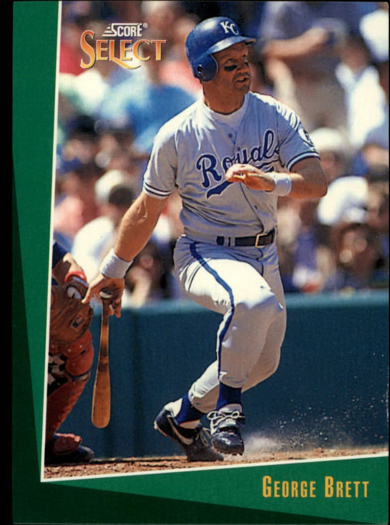 1993 Select #78 George Brett