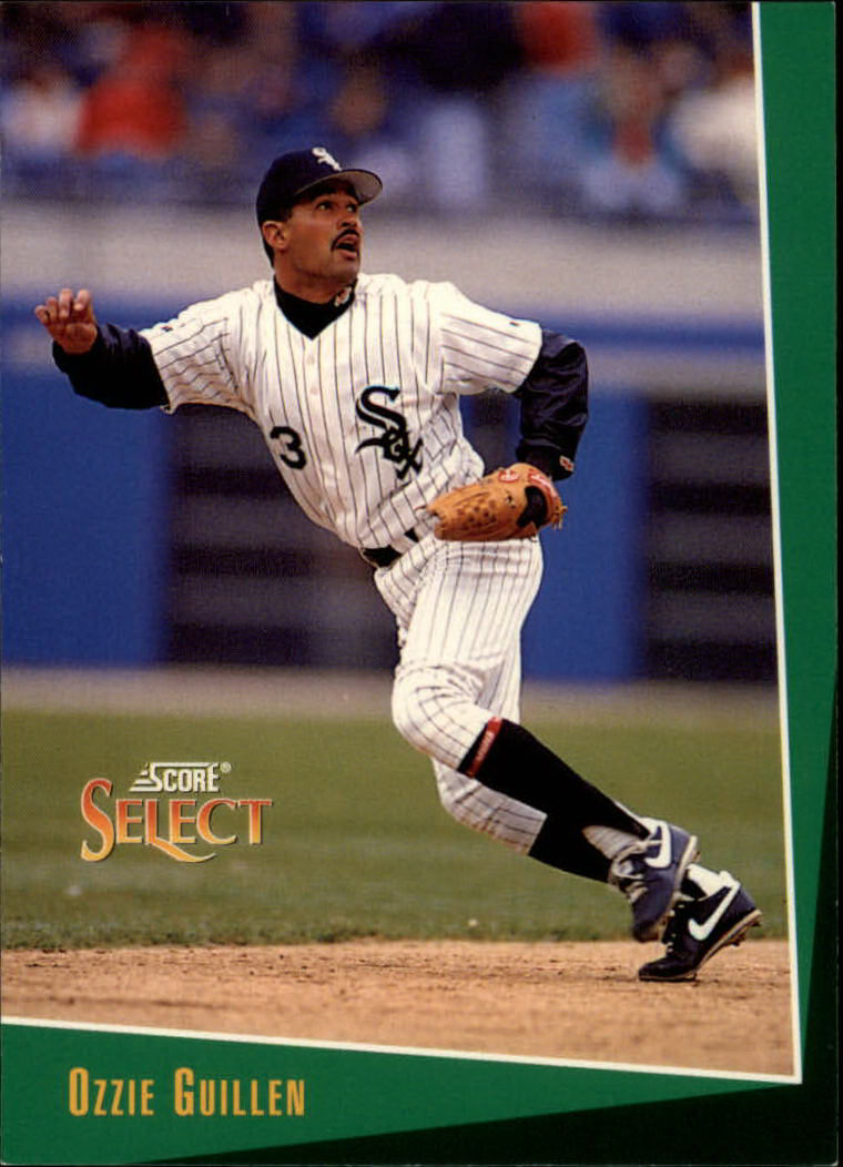 1993 Select #128 Ozzie Guillen