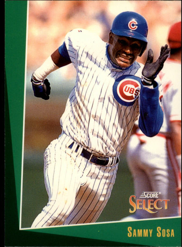 1993 Select #165 Sammy Sosa