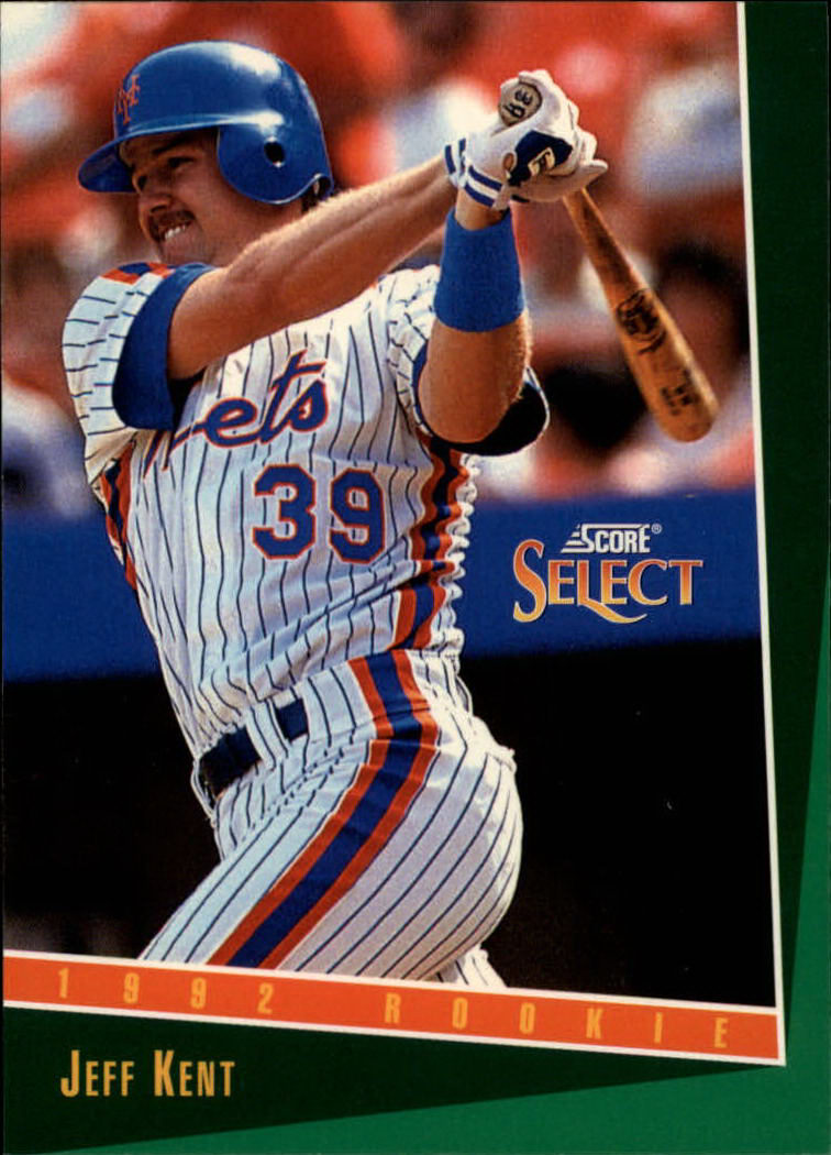 1993 Select #318 Jeff Kent