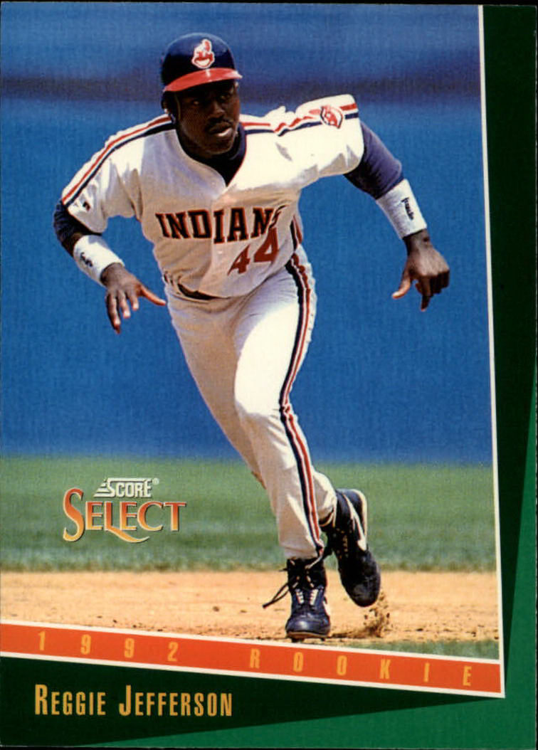 1993 Select #330 Reggie Jefferson
