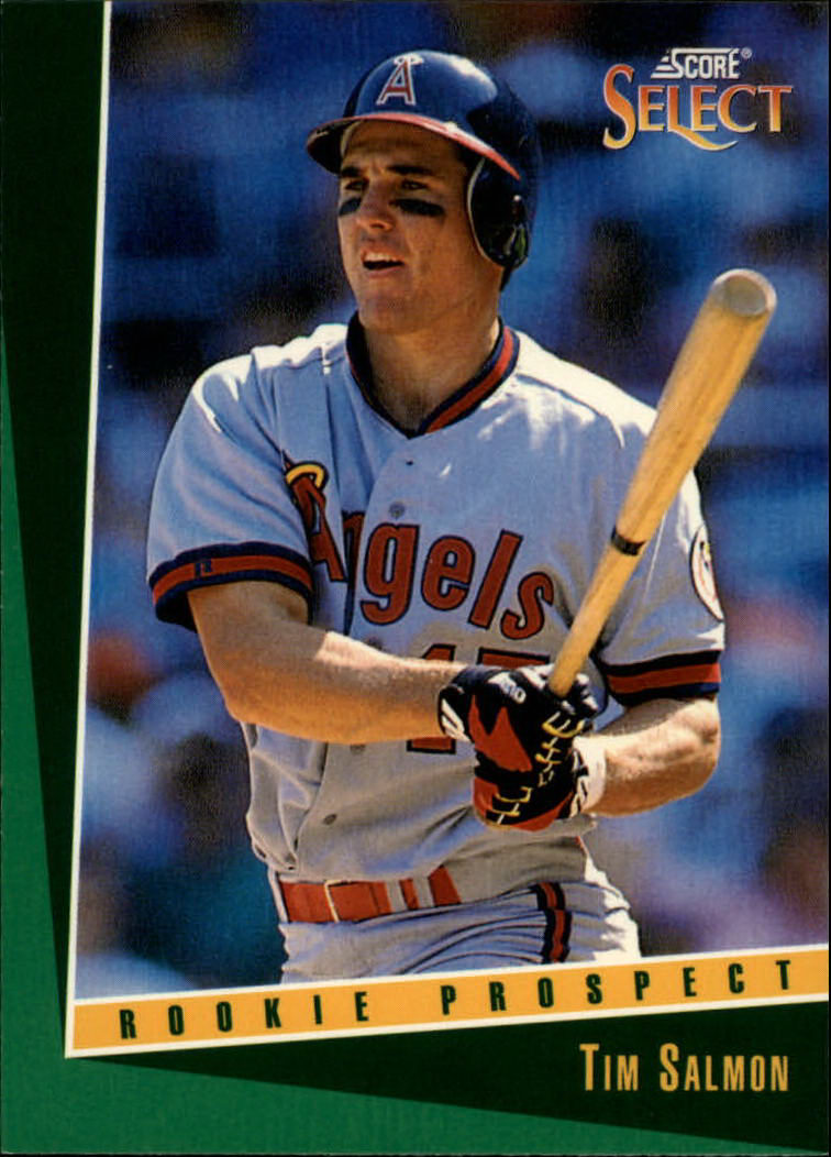 1993 Select #339 Tim Salmon