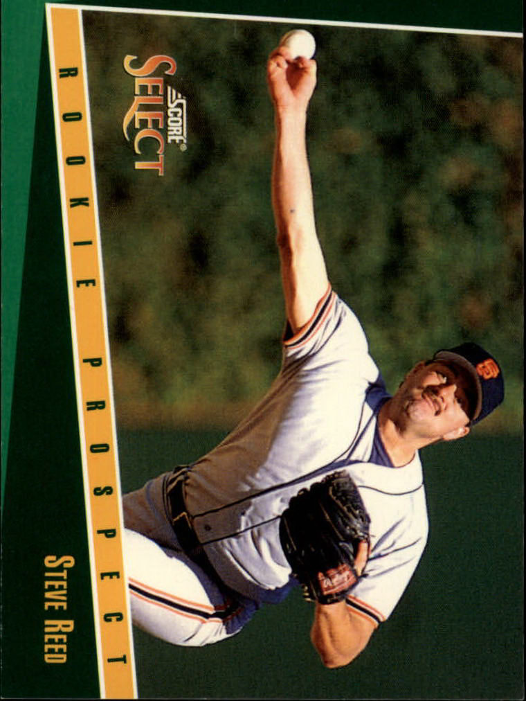 1993 Select #351 Steve Reed RC