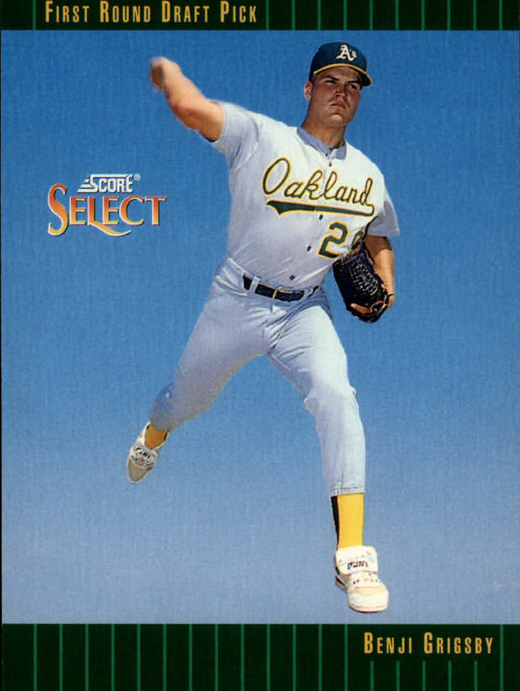 1993 Select #354 Benji Grigsby RC