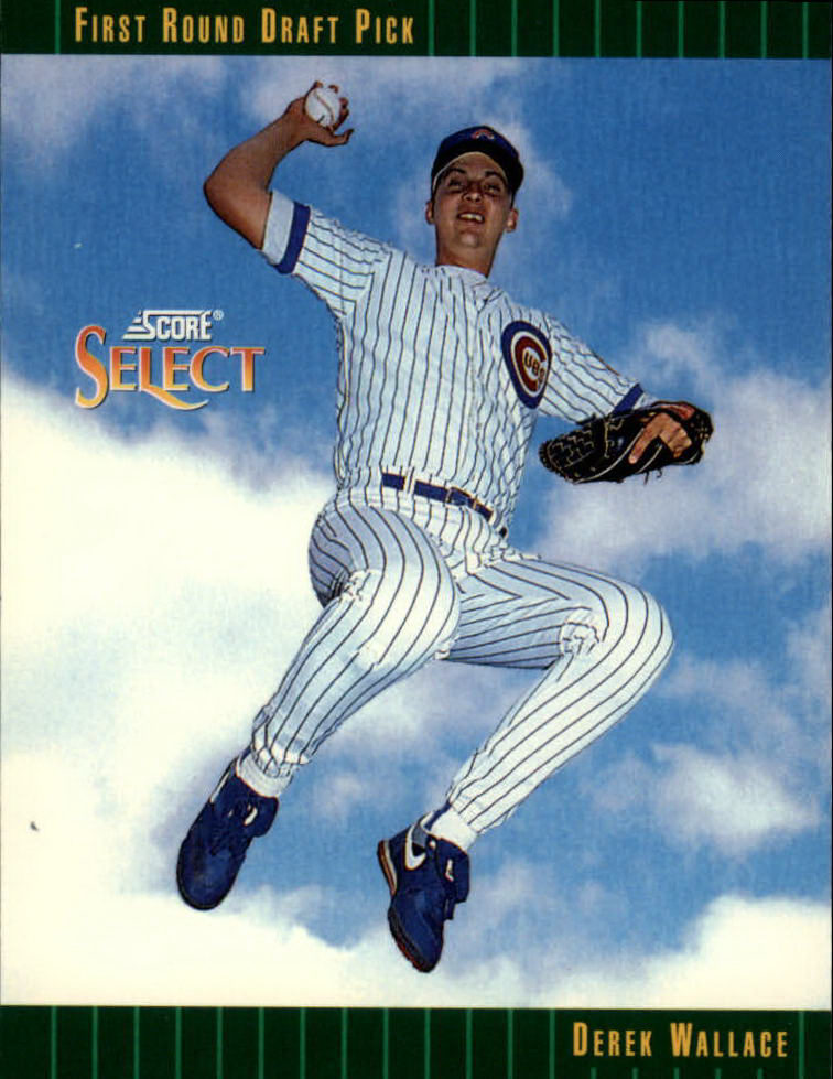 1993 Select #357 Derek Wallace RC