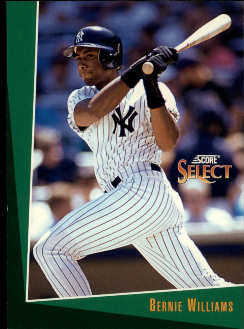 1993 Select #393 Bernie Williams