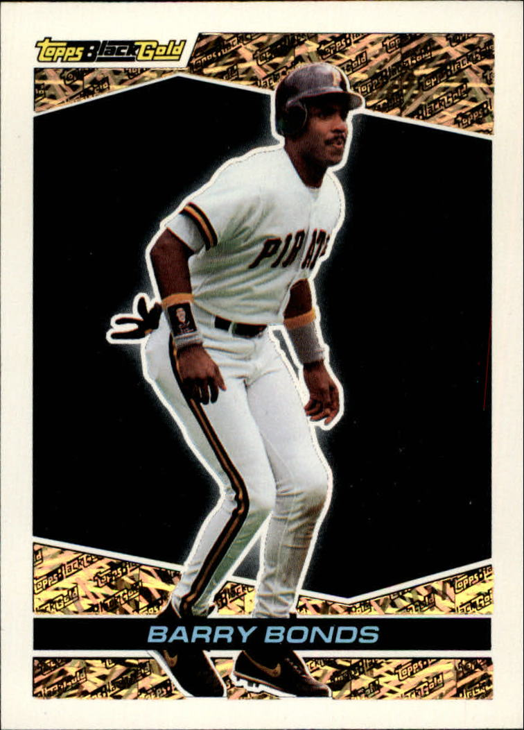 1993 Topps Black Gold #1 Barry Bonds