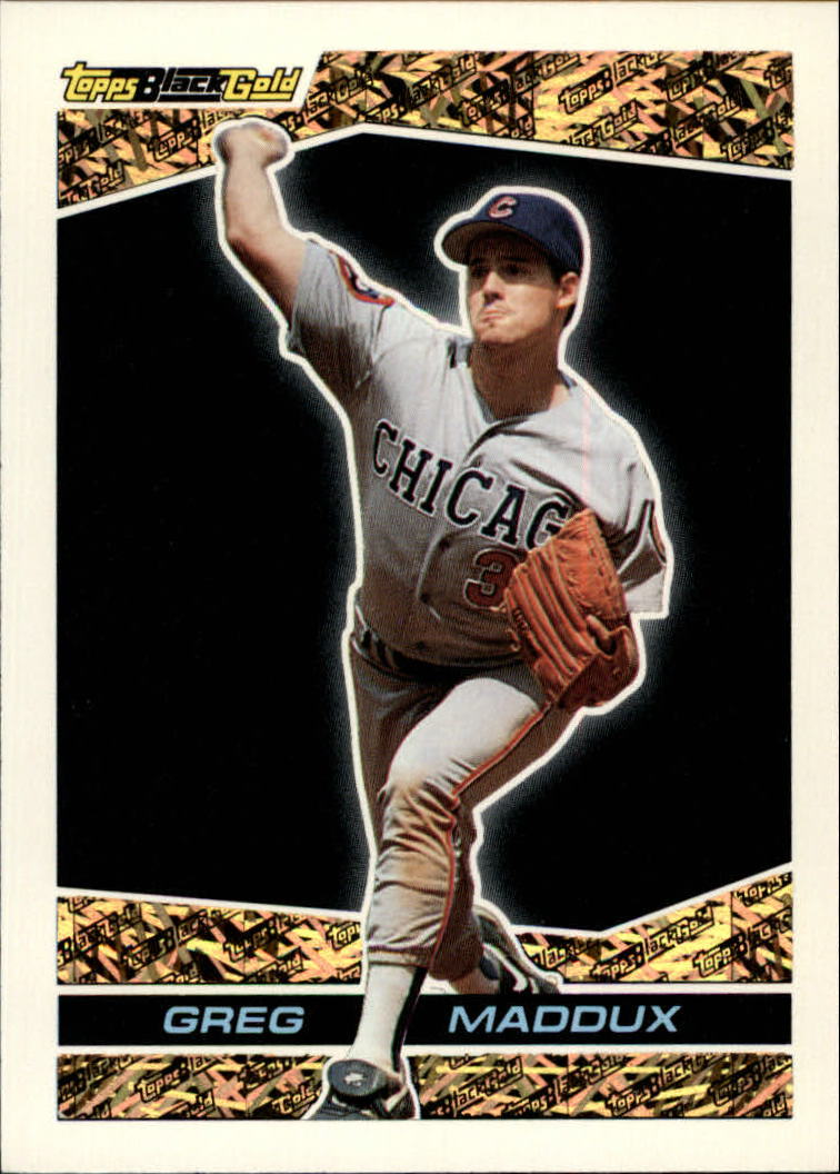 1993 Topps Black Gold #12 Greg Maddux
