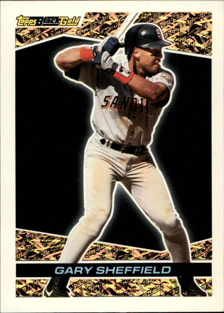 1993 Topps Black Gold #18 Gary Sheffield