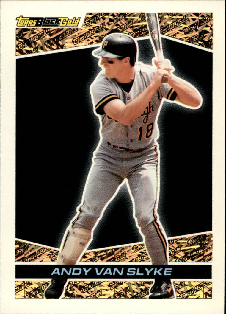 1993 Topps Black Gold #21 Andy Van Slyke