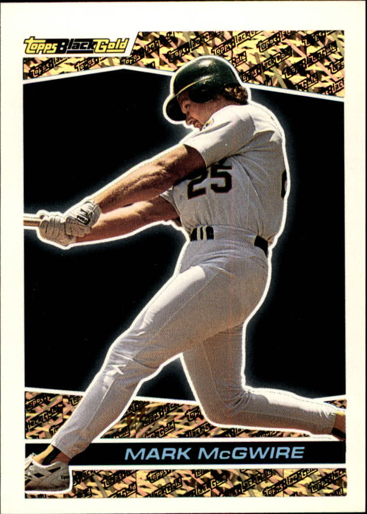 1993 Topps Black Gold #39 Mark McGwire