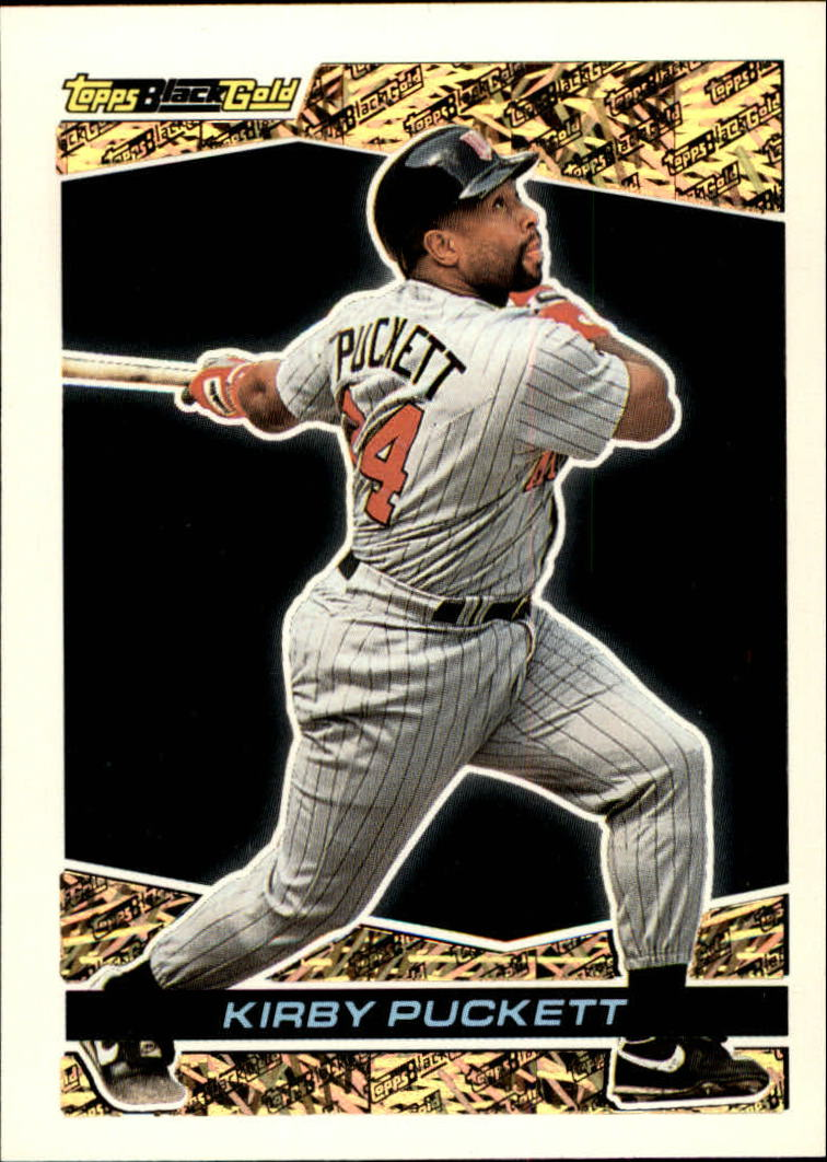 1993 Topps Black Gold #40 Kirby Puckett