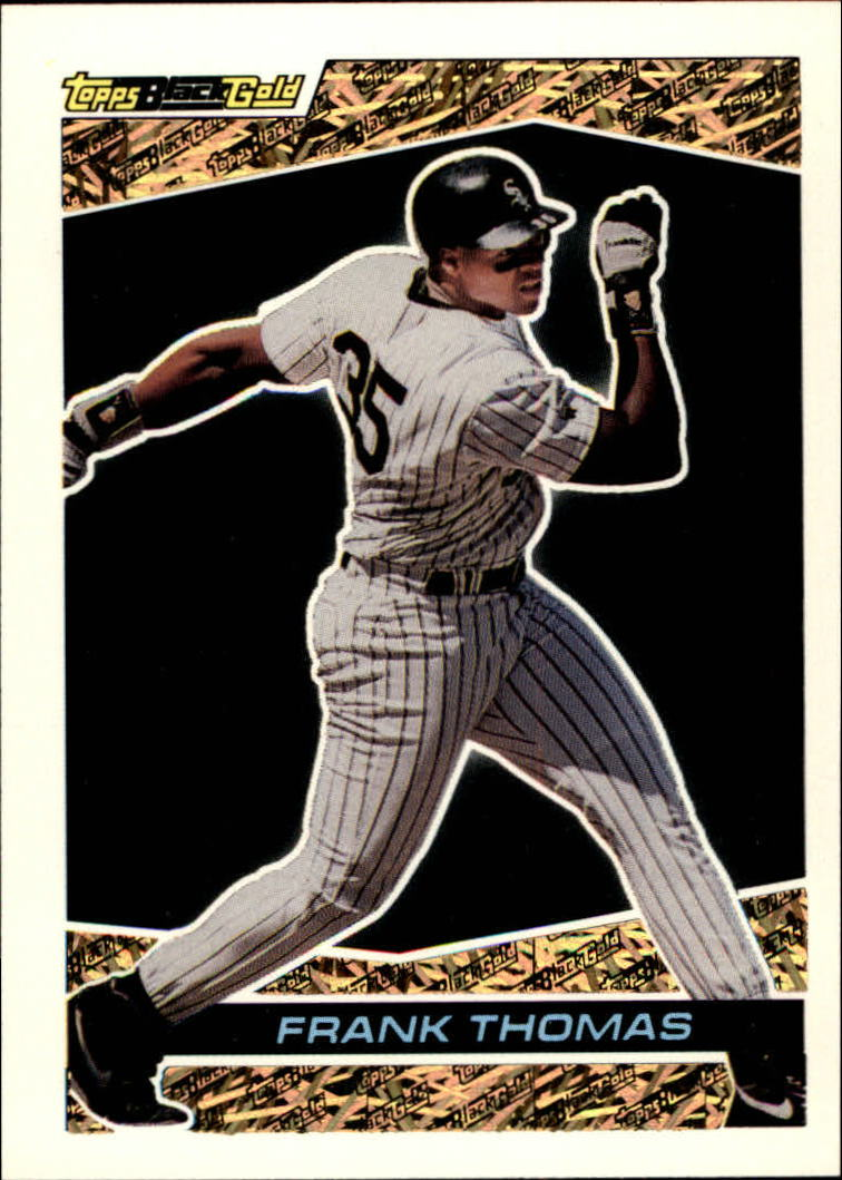 1993 Topps Black Gold #42 Frank Thomas