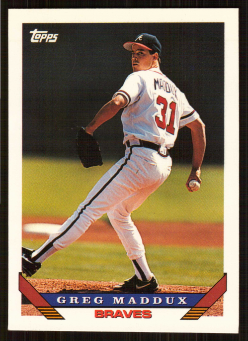 1993 Topps Traded #54T Greg Maddux