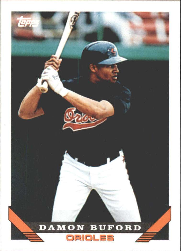 1993 Topps Traded #63T Damon Buford