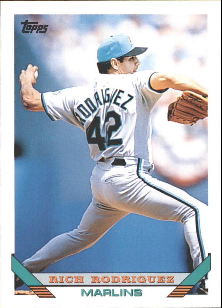 1993 Topps Traded #71T Rich Rodriguez