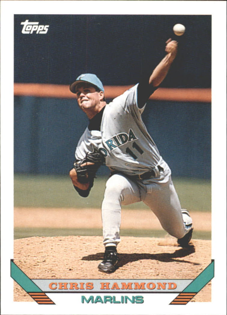 1993 Topps Traded #86T Chris Hammond