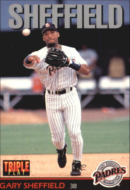 1993 Triple Play #6 Gary Sheffield