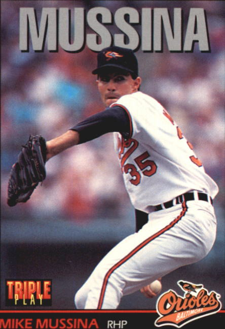 1993 Triple Play #13 Mike Mussina