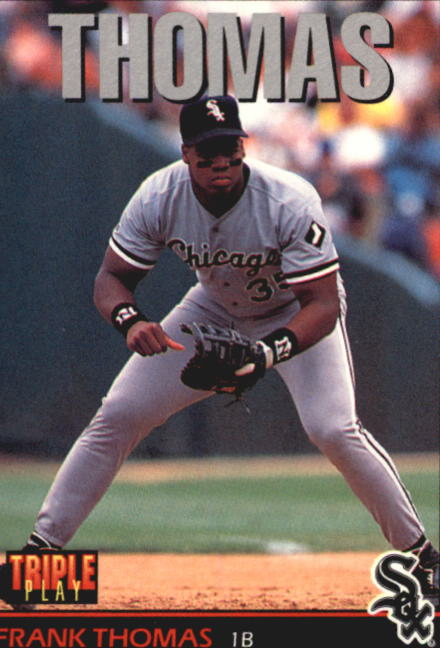 1993 Triple Play #26 Frank Thomas
